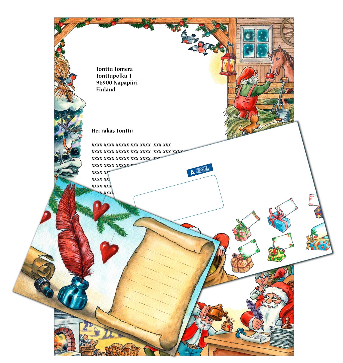 Personalized letter from santa claus personalized letter from santa spiritdancerdesigns Choice Image
