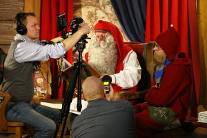 Media Santa Claus Office Arctic Circle Rovaniemi