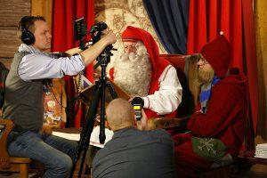 Media Santa Claus Office Arctic Circle Rovaniemi