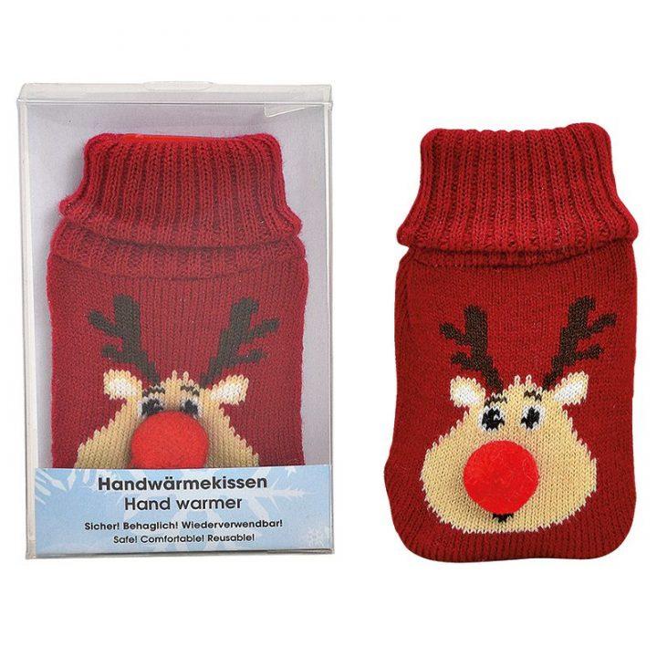 Hand Warmer, Reindeer Red.