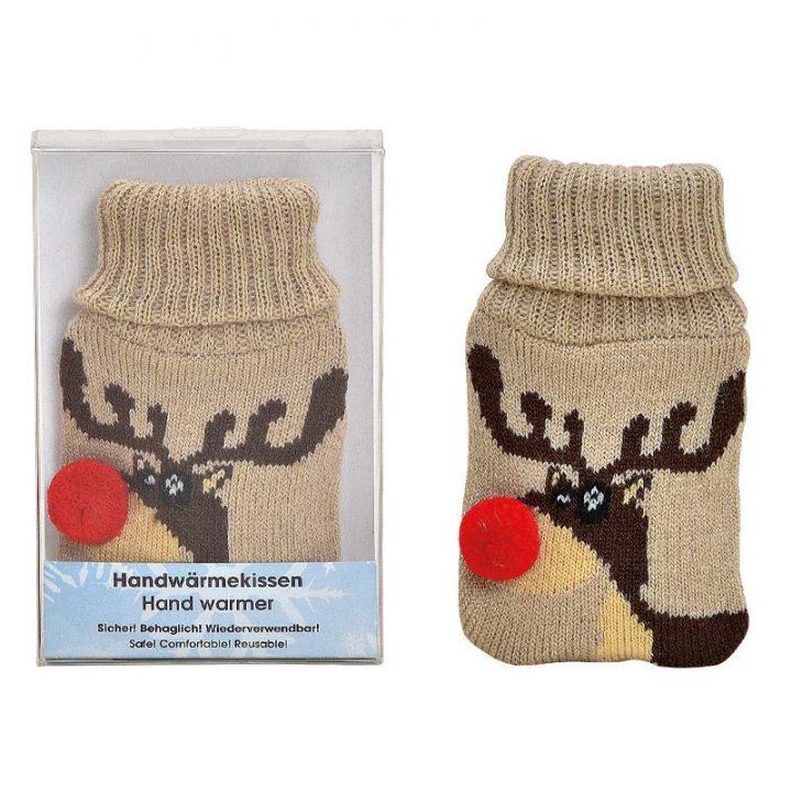 Hand Warmer, Reindeer Beige.