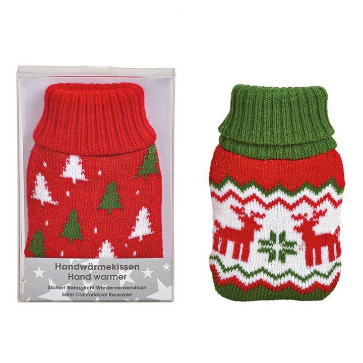 Hand Warmer, reindeer/tree.