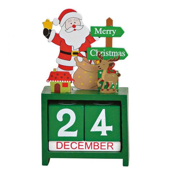 Table Calendar, Santa.