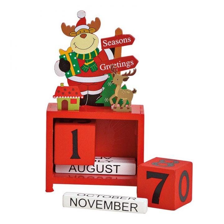 Table Calendar, Reindeer.