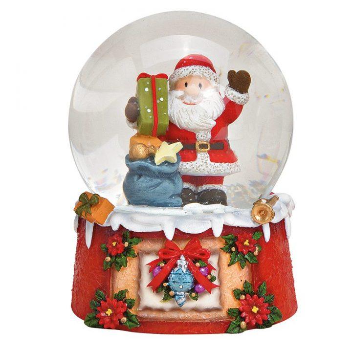 Iso, Joulupukki Lumisadepallo.