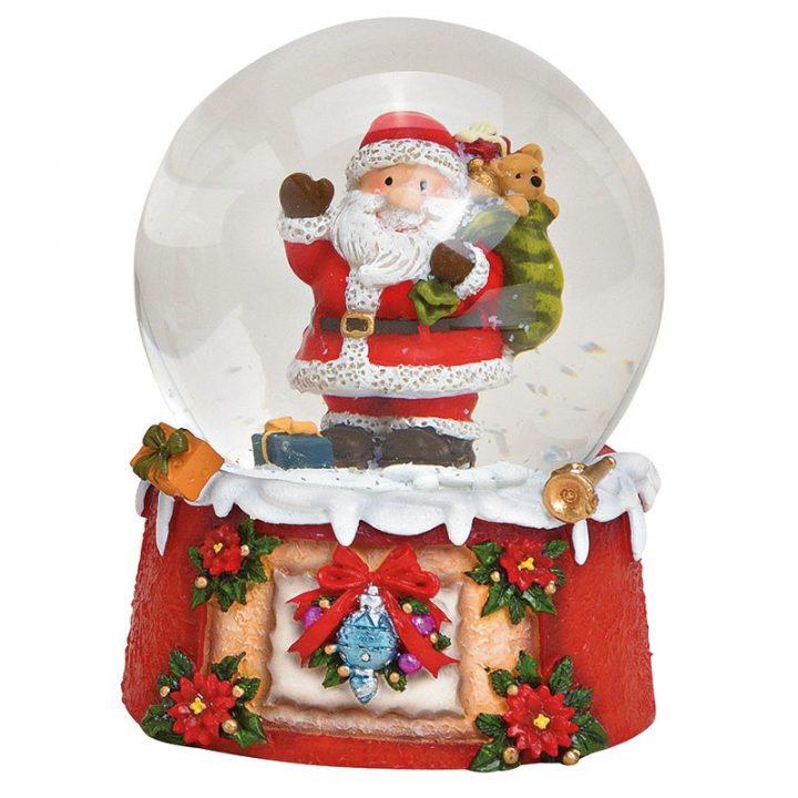 Iso, Joulupukki Lumisadepallo2.
