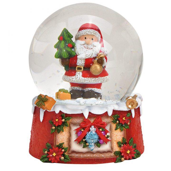 Iso, Joulupukki Lumisadepallo3.