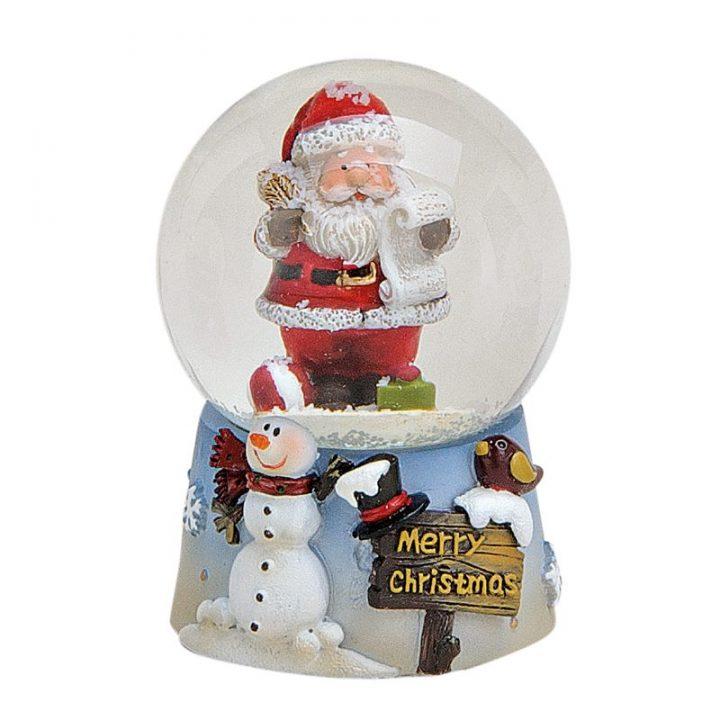 Santa Snow Globe.