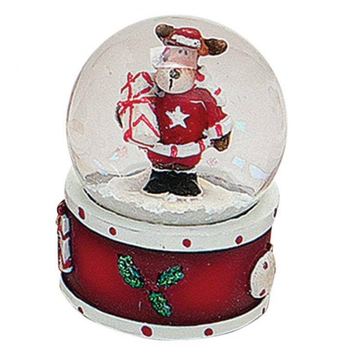 Mini Snow Globes, Reindeer.
