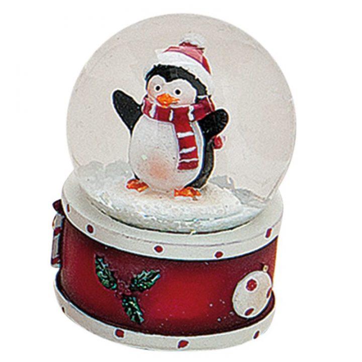 Mini Snow Globes, Penguin.