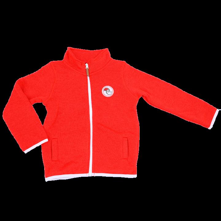 Fleece jacket.