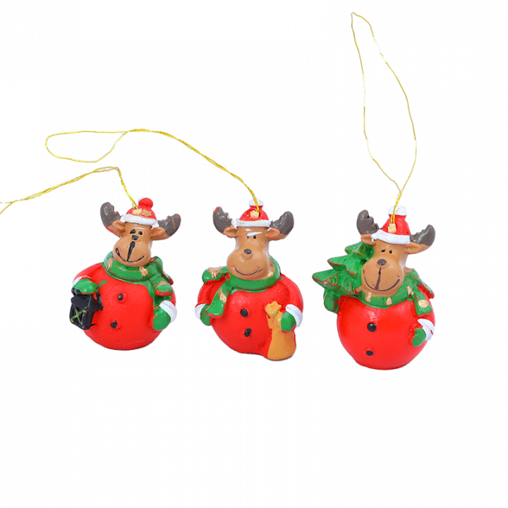 Tree Decoration, Mini Reindeer.