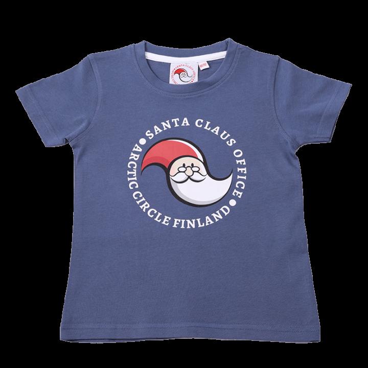 Santa Claus Office Logo t-paita, lasten.