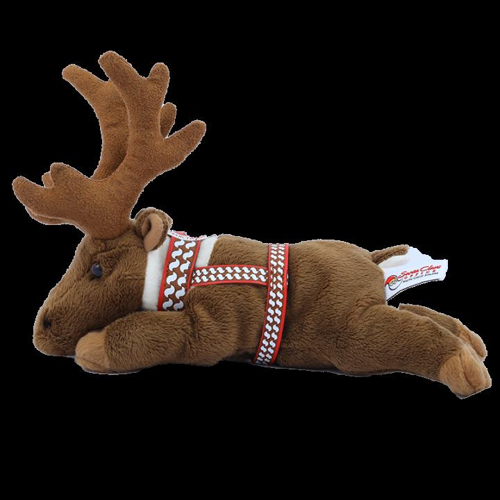 Reindeer Cuddly Toy.