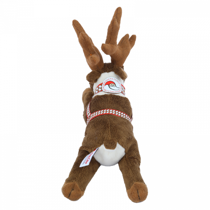 Reindeer Cuddly Toy from back