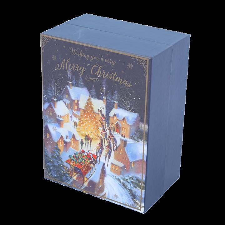 Cardboard Advent Calendar, Stamps