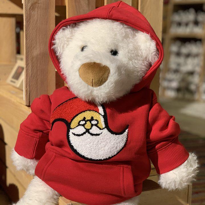 Santa Claus Office hoodie for kids.