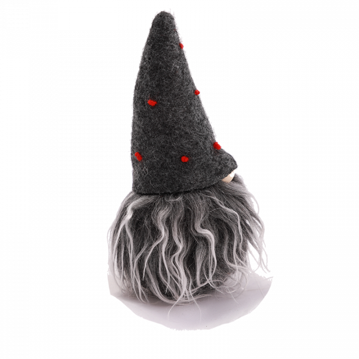 Dark Grey Elf from side.